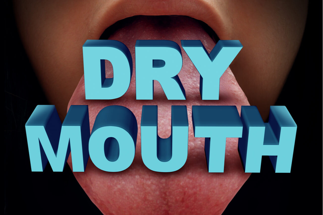 What are the home remedies for dry mouth at night?